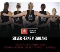 New World Netball Series - Silver Ferns Vs England - 28 Oct